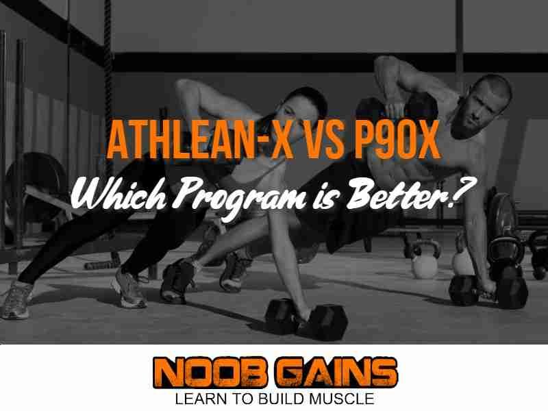 Athlean x vs p90x image