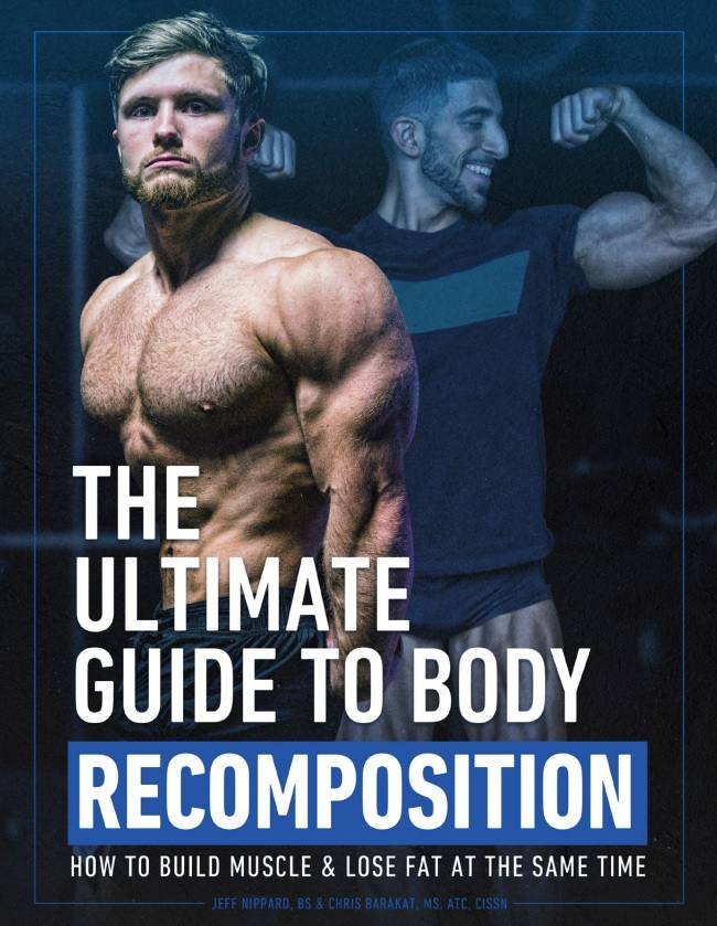 Jeff nippard body recomposition ebook image