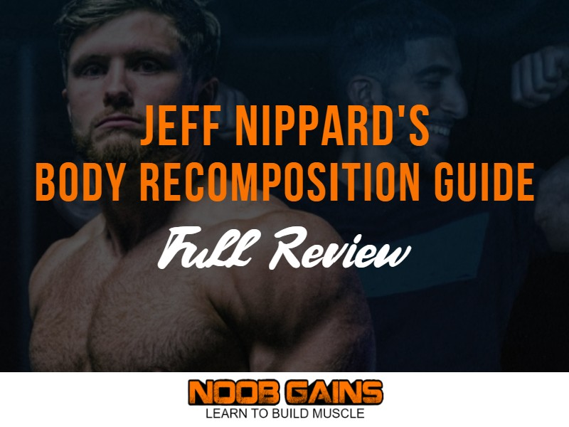 Jeff nippard body recomposition image
