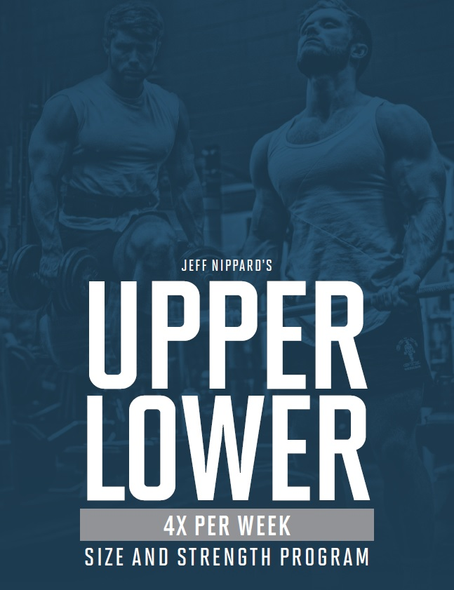 Jeff nippard upper lower ebook image