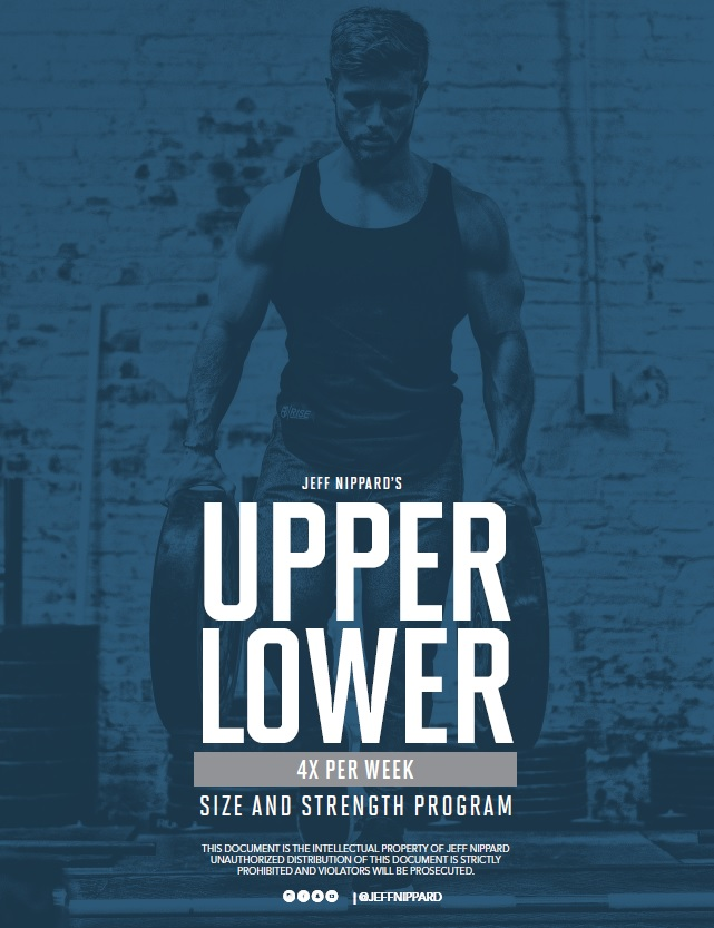 Jeff nippard upper lower program review image