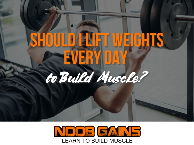 Should i lift weights every day image