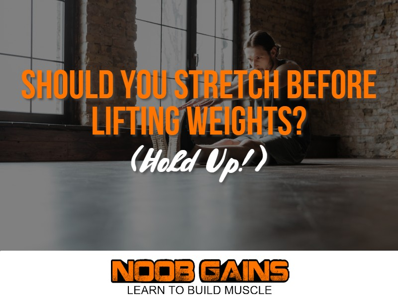 Should you stretch before lifting image