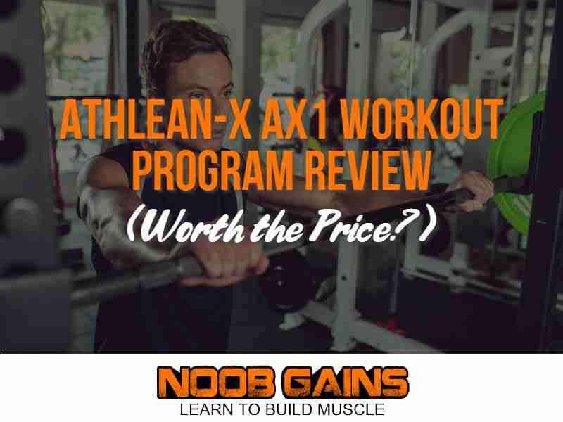 Athlean x ax1 image