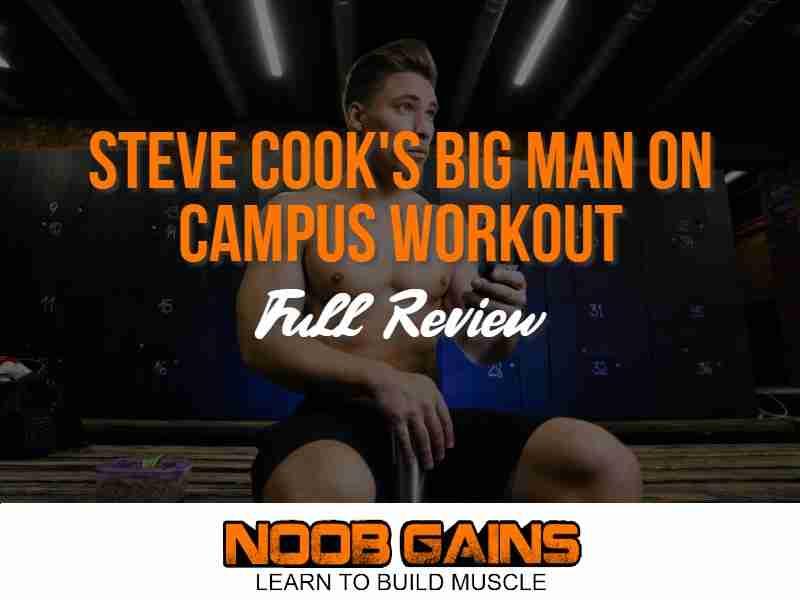 Big man on campus workout image