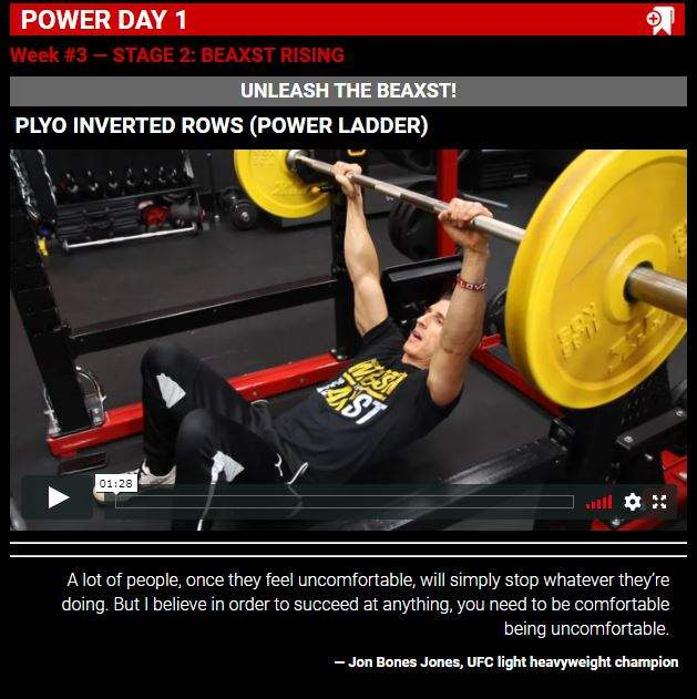 Athlean x total beast power days image