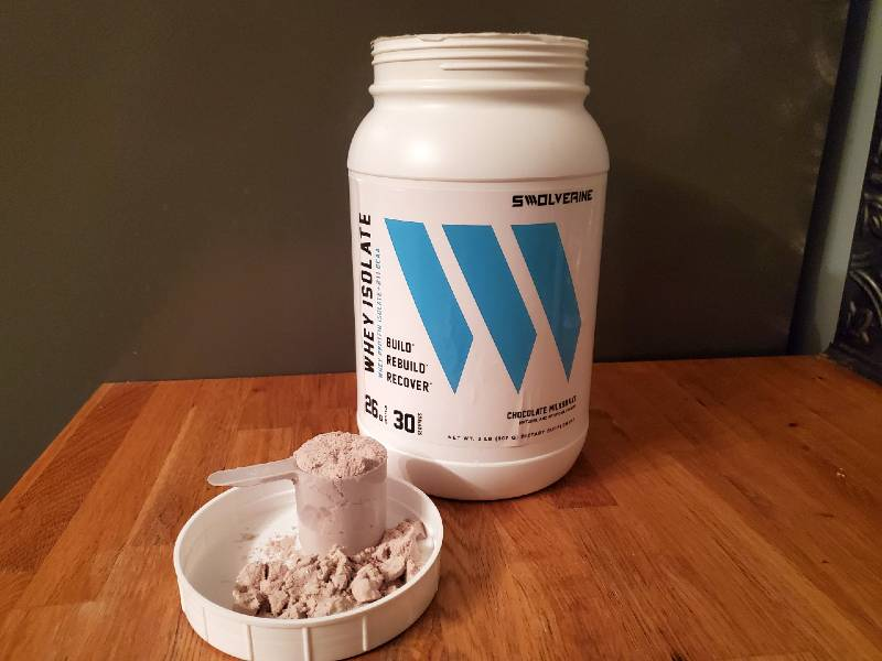 Summing up this swolverine whey protein isolate review image