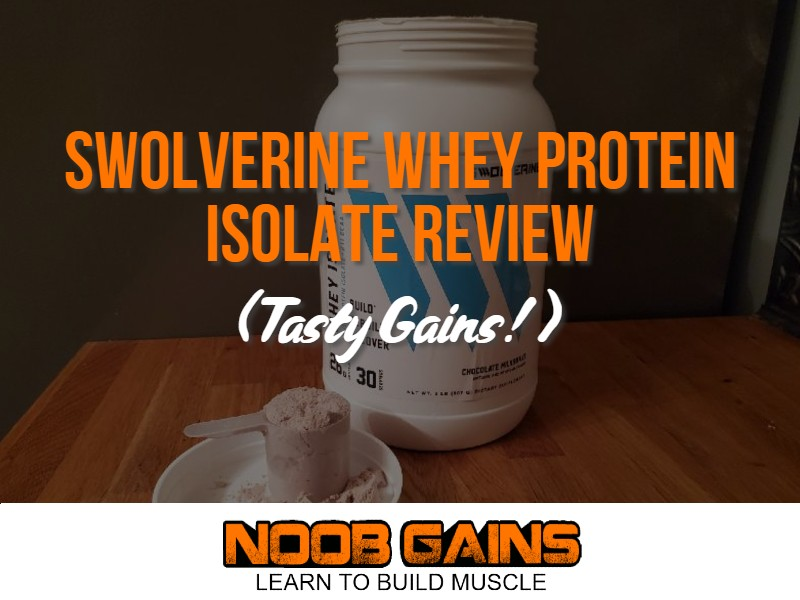 Swolverine whey protein isolate review image