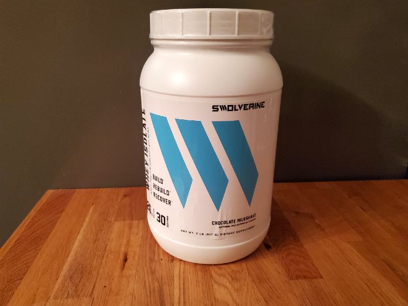 Taking a look at their whey protein isolate image