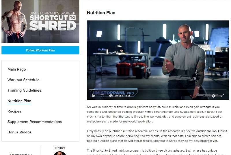 The nutritional plan & recipes image