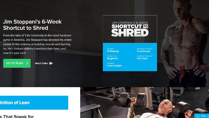 What is jim stoppani's 6-week shortcut to shred image