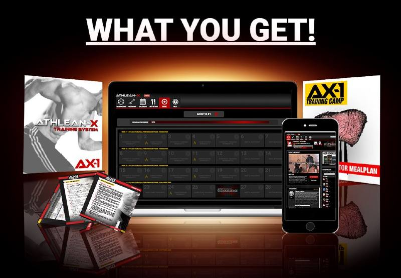 What is the athlean ax1 workout program image