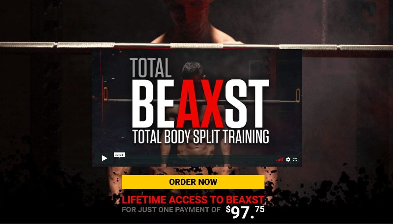 What is the athlean-x total beast workout program image