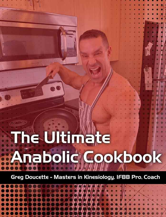 What is the ultimate anabolic cookbook image