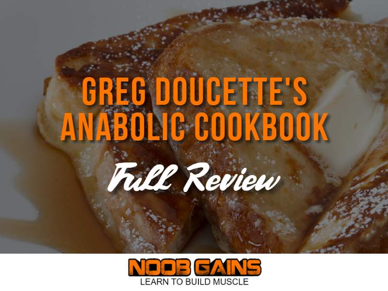 Greg doucette's anabolic cookbook image
