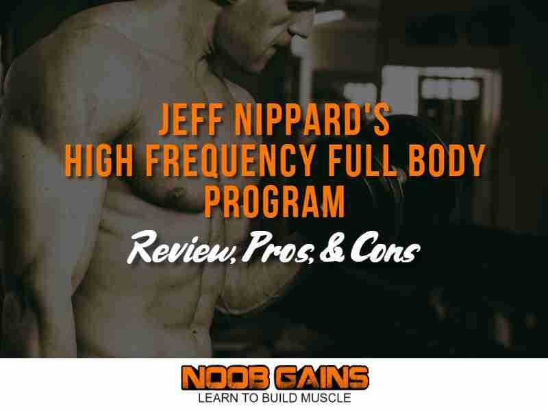 Jeff nippard full body workout image