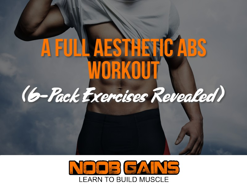 Aesthetic abs workout image