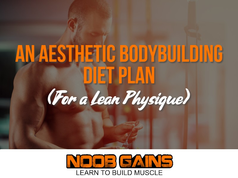 Aesthetic bodybuilding diet image