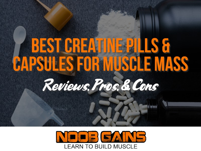 Best creatine pills for muscle mass image