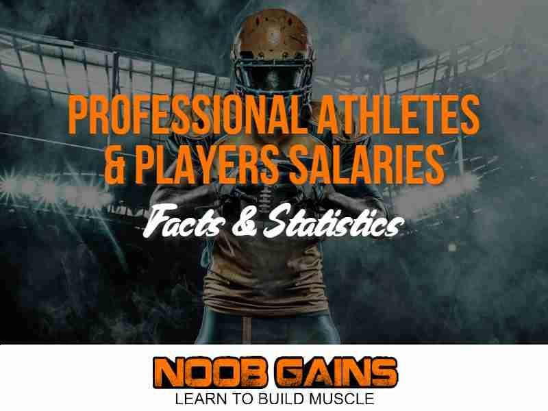 Professional athletes salaries statistics image1