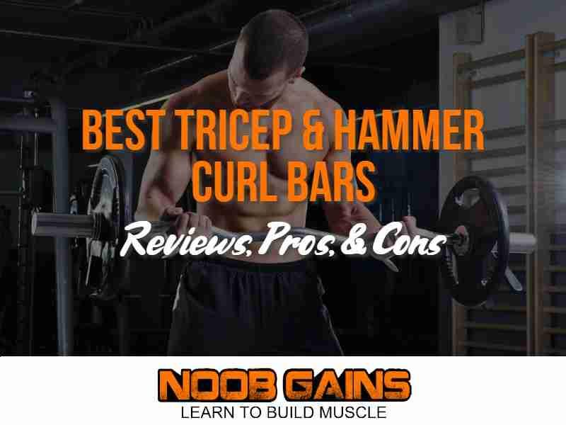 Tricep hammer curl bar image