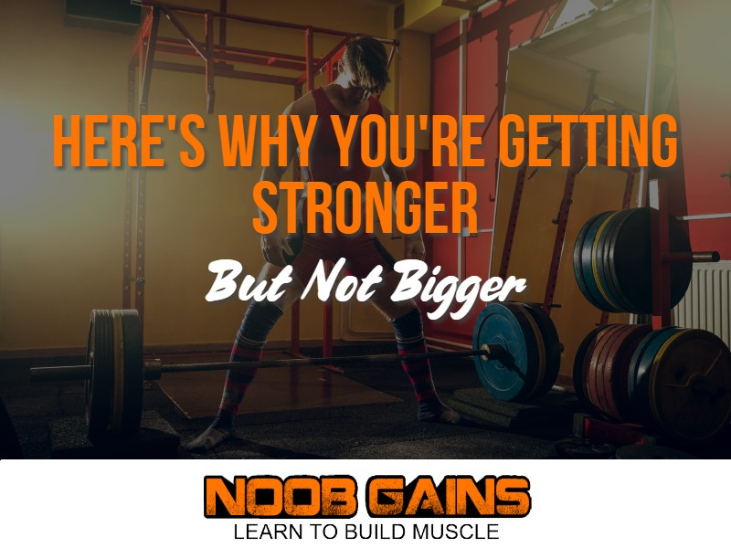 Getting stronger but not bigger image