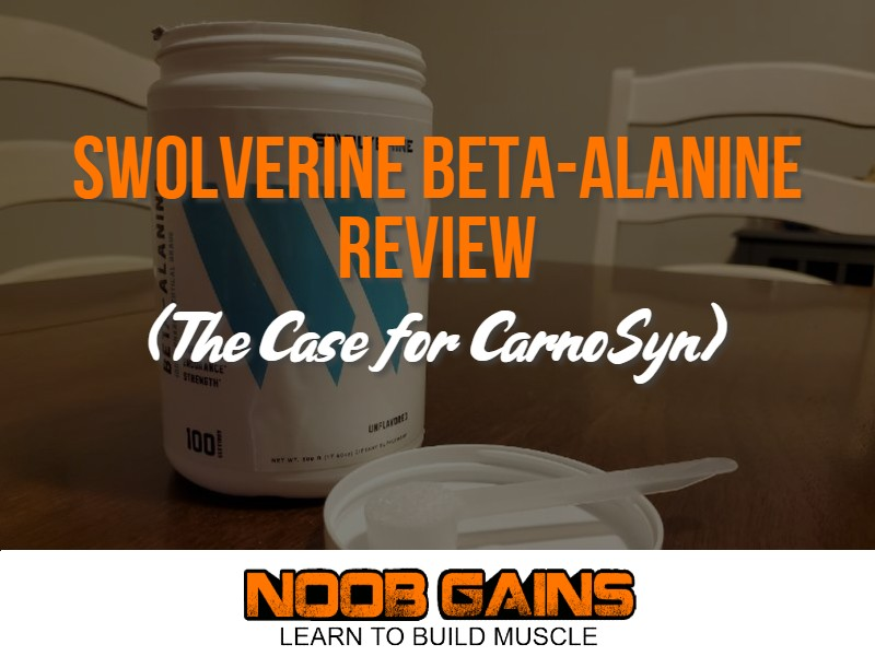 swolverine beta alanine review image