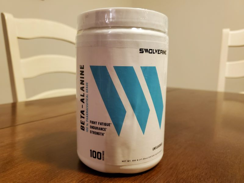 What is swolverine beta alanine image