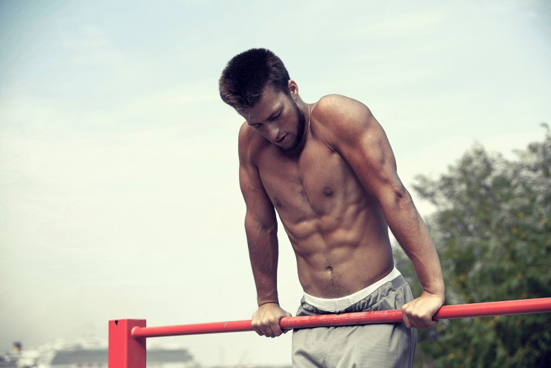 Aesthetic calisthenics workout image