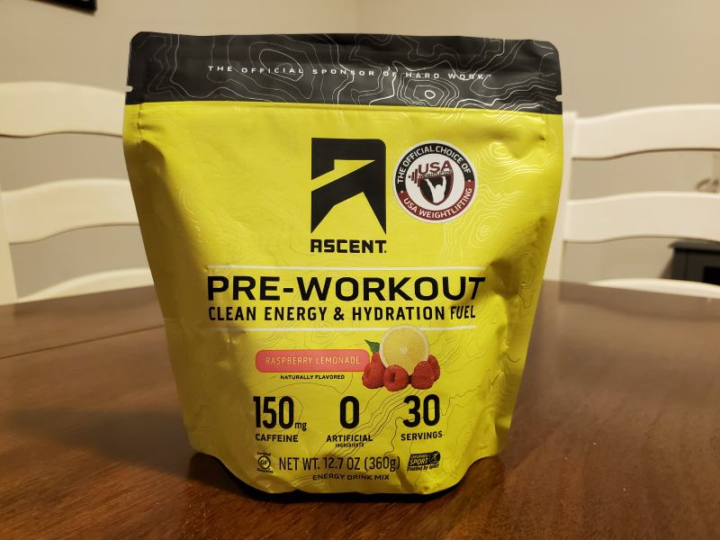 What is ascent pre workout image