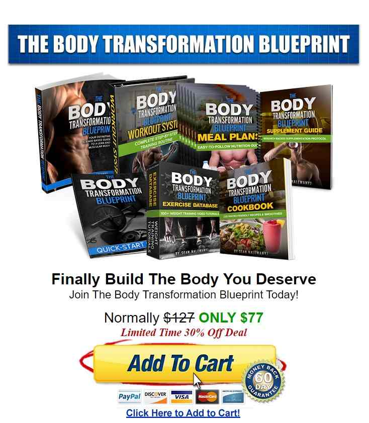 What is Body Transformation Blueprint image