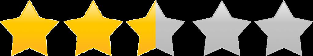 Star ratings 2.5 image