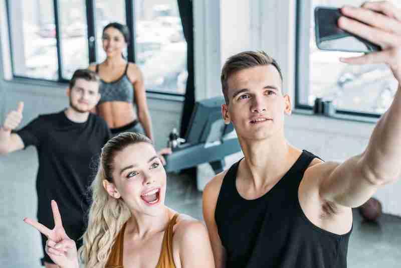 Millennials fitness statistics image