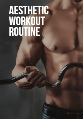 Aesthetic workout routine image