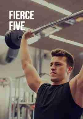 Fierce five workout image