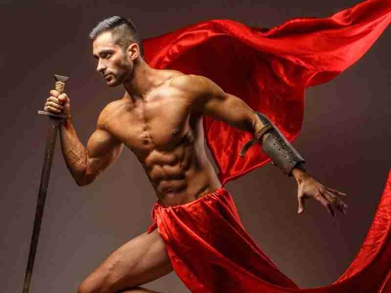 Greek god physique image