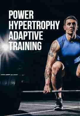 Phat workout routine image