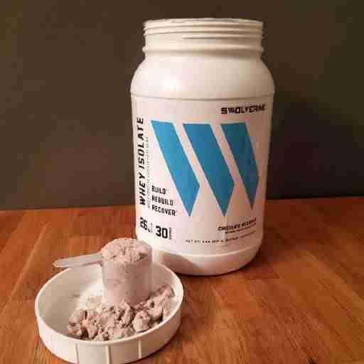 Swolverine whey protein image