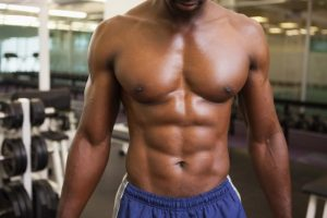 Aesthetic v taper workout image