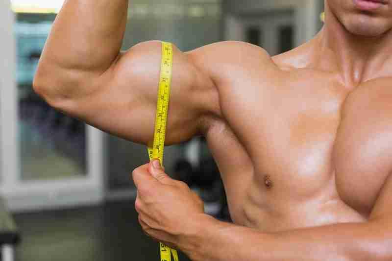 Do you measure biceps flexed image